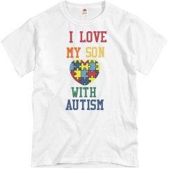 I Love My Son💙 Man Shirt