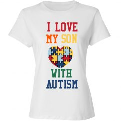I 💙 My Son Woman's Shirt