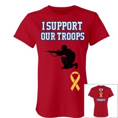 I support our troops