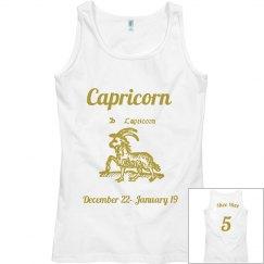 Capricorn tank