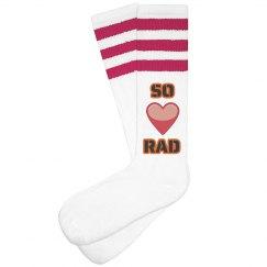 So Rad Knee Socks