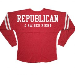 Republican Raised Right Jersey