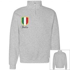 Italia-half zip