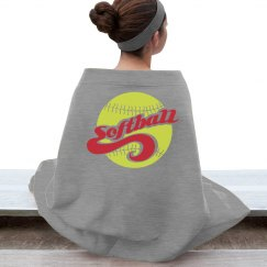 Softball Stadium Blanket