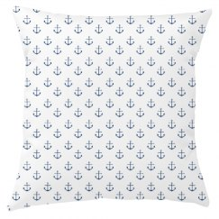 Anchor All Over Print Pillow
