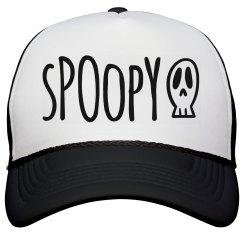 Spoopy Skull Hat