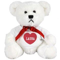 Red Heart Valentine Bear