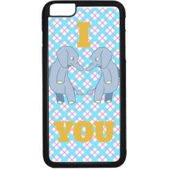 Elephant Heart Phone Case