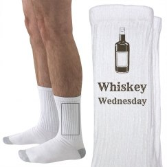 Whiskey Wednesday Socks