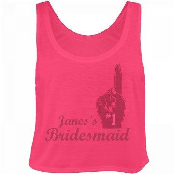 #1 Bridesmaid