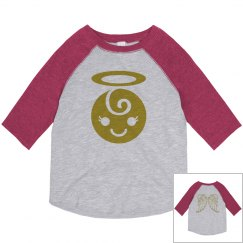 Little Angel Toddler Girl Shirt