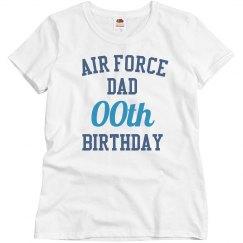Customize air force dad bday