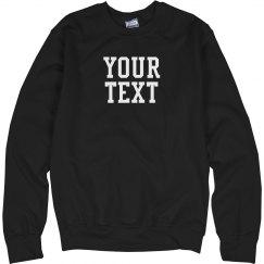 Custom Varsity Sweatshirt