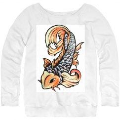 Koi Fish Sweater