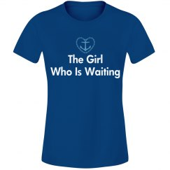 the girl who is waiting