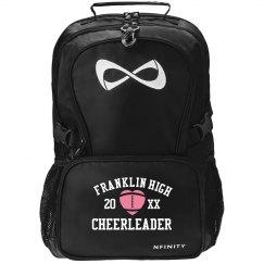 Custom Heart Cheerleader