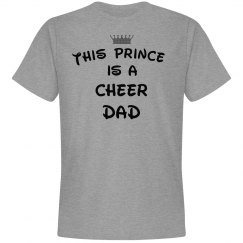 This prince is a cheer dad