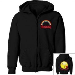 Camp rainbow & emoji sweatshirt