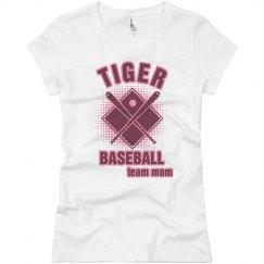 Tiger Baseball Mom
