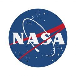 Cute Trendy NASA Badge