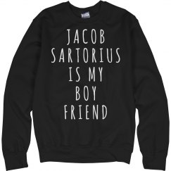 Jacob Sartorius Is My Boyfriend Sweater Multiple Colors