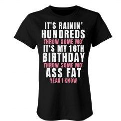 Throw Some Mo' 18th Birthday