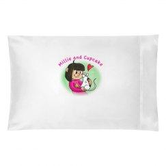 m & C pillow case
