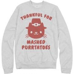 Thanksgiving Cat Pun