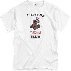 Love tattooed dad