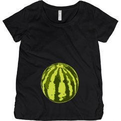 Baby is as big as a WATERMELON