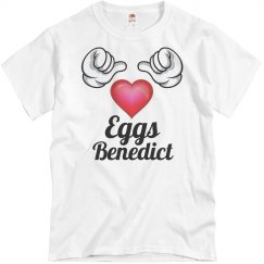 I love eggs benedict