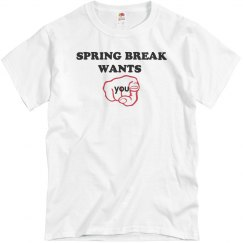 Spring breaks wants you!