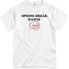 Spring breaks wants you!