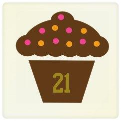 21St Birthday Coaster