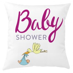 Baby Shower Cushion Cover