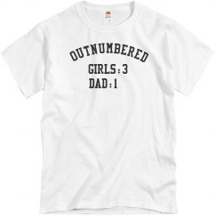 Dad Outnumbered By Daughters
