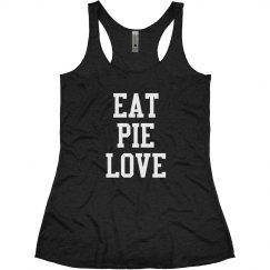 Eat Pie Love - Black