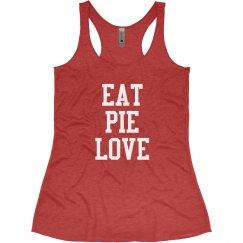 Eat Pie Love - Red