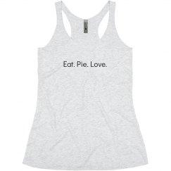 Eat.  Pie.  Love.