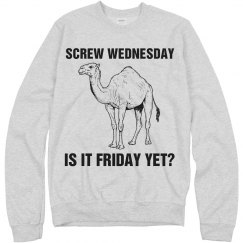 Hump Day? Try Friday!