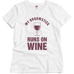 My Broomstick Runs On Wine