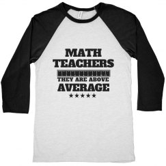Above Average Teacher