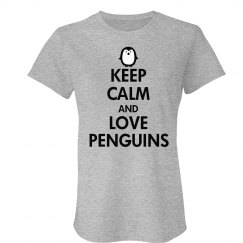 Keep Calm Love a Penguin