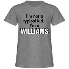 I'm a Williams!