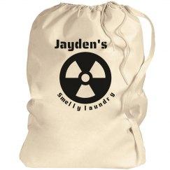 Jayden's smelly laundry