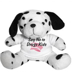 Say No to Drugs Kids Dalmatian
