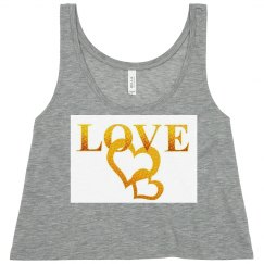 Cute Love Crop Top