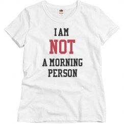 No Good Morning