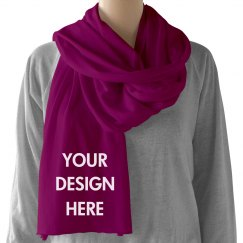 Custom Scarf Design & Text
