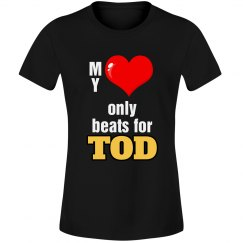 Heart beats for Tod